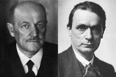 Emil Molt und Rudolf Steiner